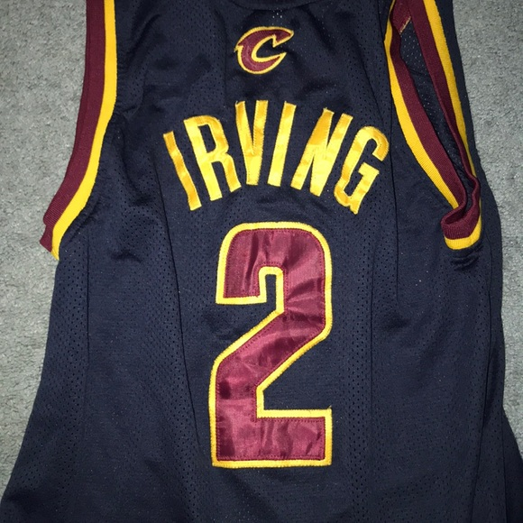newest collection f4906 b6d18 KYRIE IRVING CAVALIERS HARDWOOD CLASSICS JERSEY